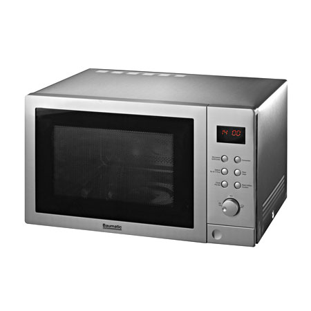 Baumatic BTM255SS, Freestanding 900W Microwave Combi