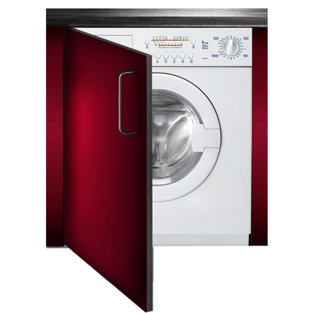 Baumatic BWDI126N, Fully-Integrated 60cm 6kg Washer / 4kg Dryer with 1200rpm Spin Speed.Ex-Display