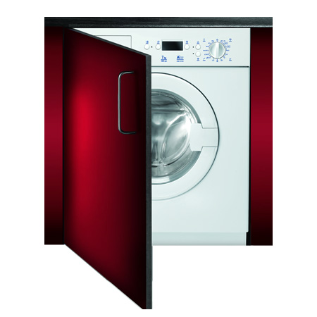 Baumatic BWMI1472DN1, 7kg 1400rpm Built-In Washing Machine, A+ Energy Rating.