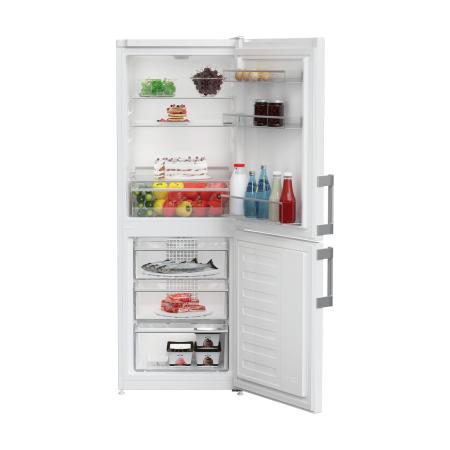 Blomberg KGM4530, Freestanding 55cm Frost Free Fridge Freezer White