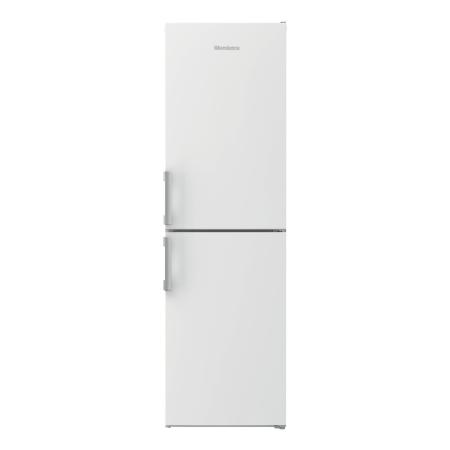 Blomberg KGM4550, Freestanding 55cm Frost Free Fridge Freezer ChromeWhite