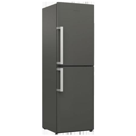 Blomberg KGM9681G, 60cm Frost Free Fridge Freezer - Graphite - A+ Rated