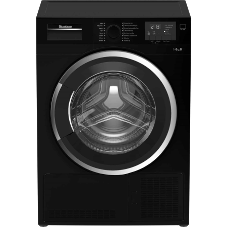 Blomberg LTK2803B, 84.6x59.5x60.9 8kg Condenser Dryer Black with Sensor