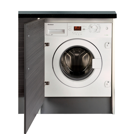 Blomberg LWI842, Built-In 8kg 1400rpm Washing Machine with A++ Energy Rating - White