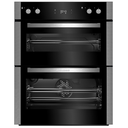 Blomberg OTN9302X, 71.5x59.4x56.7 Fan Assisted Electric Double Oven Stainless Steel with Programmer