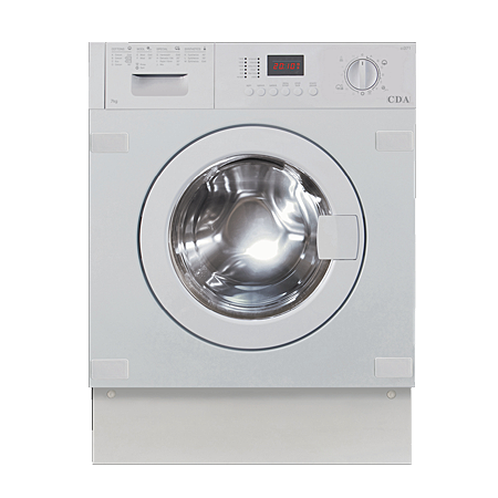 CDA CI371, Fully-Integrated 7KG 1400rpm Washing Machine