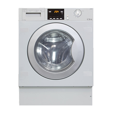 CDA CI925, Fully-Integrated 6 Kg Wash / 3Kg Dry  1200rpm Washer Dryer