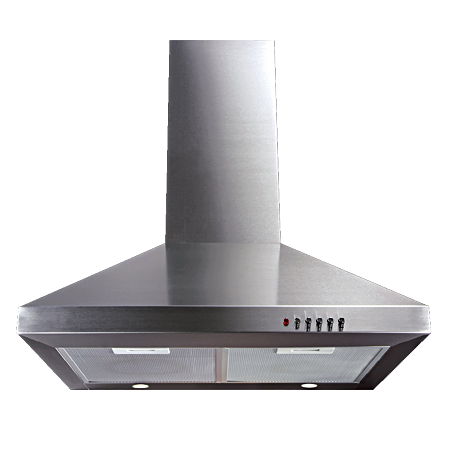 CDA ECH61SS, 60cm Chimney Extractor Hood - Stainless Steel