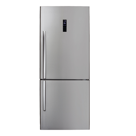 CDA FF770SS, Freestanding Frost Free Fridge Freezer Stainless Steel, A+ Energy Rating