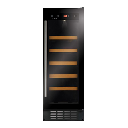 CDA FWC304BL, Freestanding/ under counter slimline wine cooler