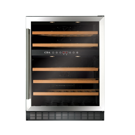 CDA FWC603SS, Under Counter Wine Cooler Stainless Steel.Ex-Display Model