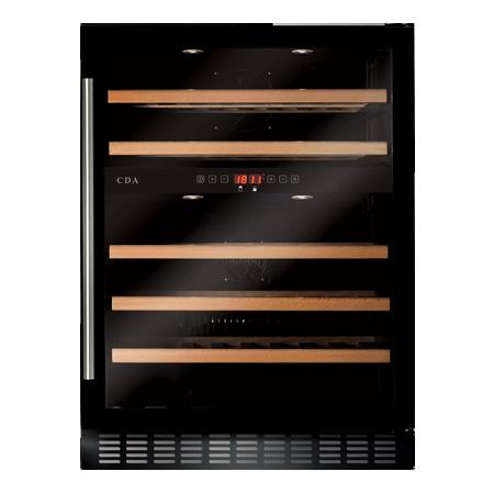 CDA FWC604BL, Freestanding/ under counter wine cooler