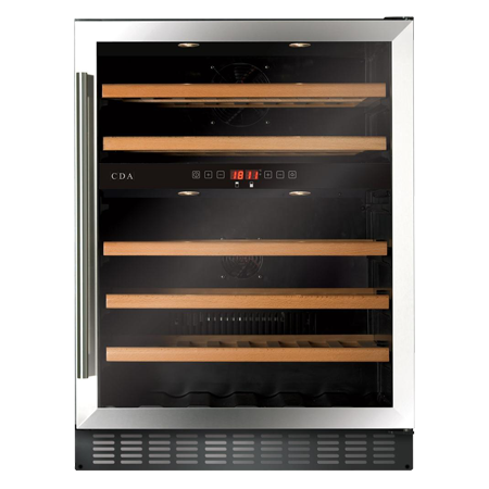 CDA FWC604SS, Freestanding/ under counter wine cooler