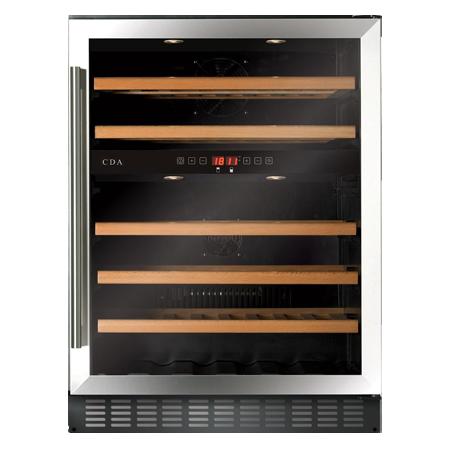 CDA FWC604SS, Freestanding/ under counter wine cooler