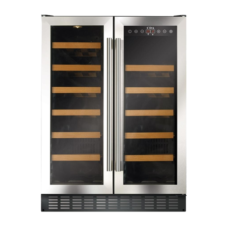 CDA FWC623SS, Under Counter Wine Cooler Stainless Steel