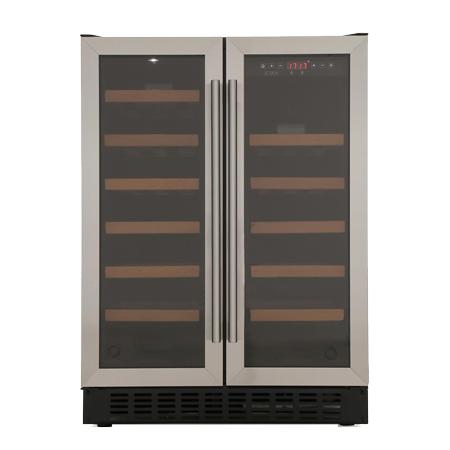 CDA FWC624SS, Wine Cooler for 40 Bottles in Stainless Steel