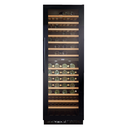CDA FWC860BL, Freestanding Full Height Wine Cooler Black.Ex-Display Model