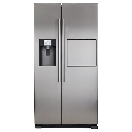 CDA PC71SC, US Style Side by Side Fridge Freezer IceStainless Steel