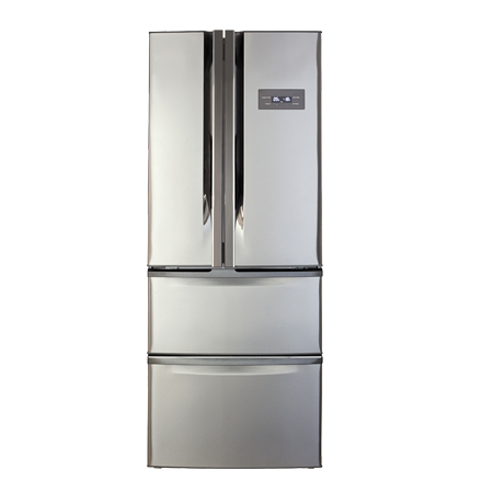 CDA PC84SC, US Style Side by Side Frost Free Fridge Freezer Stainless Steel