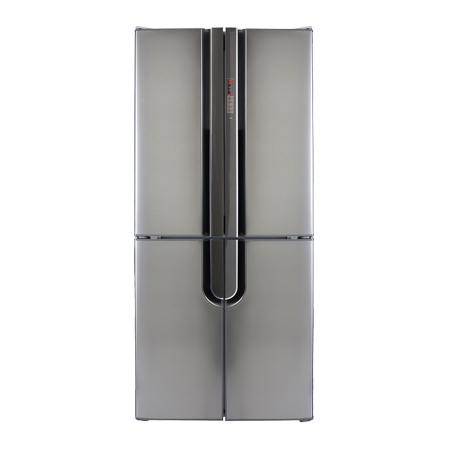 CDA PC88SS, US Style Side by Side Fridge Freezer with A+ Energy Rating - Silver. Freestanding