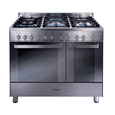 CDA RC9322SS, Gas Range Cooker with Double Oven. Ex-Display Model