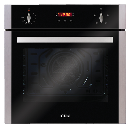 CDA SC223SS, 60cm Builtin Multifunctional Electric Fan Oven in Stainless Steel