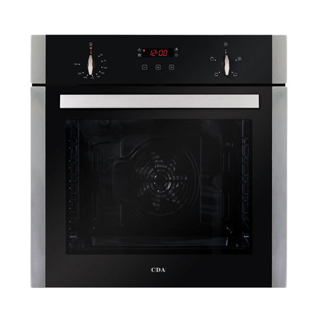 CDA SK210SS, 60cm Multifunctional Electric Fan Oven in Stainless Steel