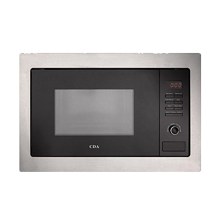 CDA VM130SS, Microwave Built-in 25 litre 900W Stainless Steel