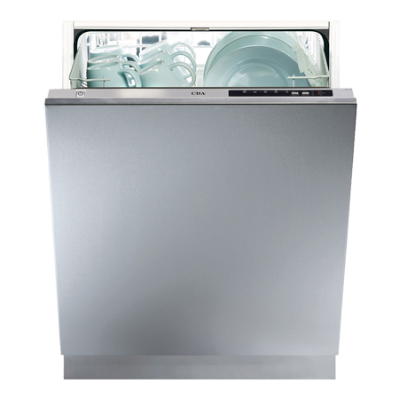 CDA WC142, Fully Integrated 60cm Dishwasher with 13 Place settings