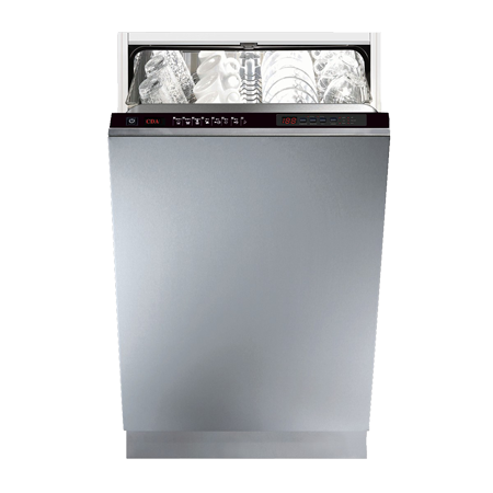 CDA WC461IN, Fully-Integrated Slimline Dishwasher with A Energy Rating