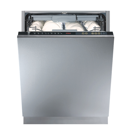CDA WC600, Fully-Integrated intelligent dishwasher with A++ Energy Rating