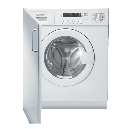 Candy CDB754D, Built-In 1400rpm 7 Kg Wash / 5 Kg Dryer  with A Energy Rating - White