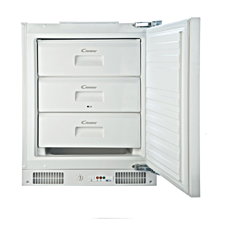 Candy CFU130EK, Built-in Under Counter Freezer with A+ Energy Rating
