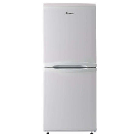 Candy CSC1365WE, 54cm Freestanding Fridge Freezer in White with A+ Energy Rating.