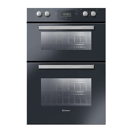 Candy FDP6109NX, Multifunction Electric Double Oven with A Energy Rating - Black.