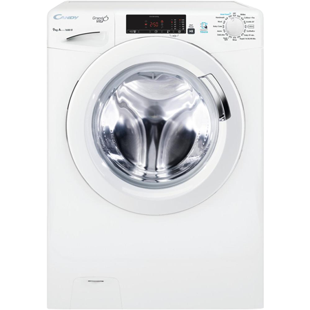 Candy GVSC169T3, 9kg 1600rpm Smart Washing Machine.