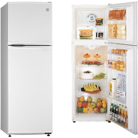 DAEWOO FR291W, Freestanding Fridge Freezer with No Frost