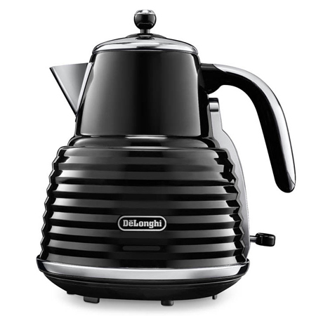 Delonghi KBZ3001BK, Scultura Kettle in Black