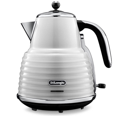 Delonghi KBZ3001W, Scultura Kettle in White