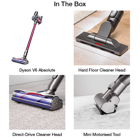 Dyson V6 Absolute Cordless Stick Vacuum Bagless Cleaner