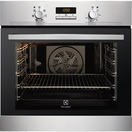 Electrolux EOB3400AOX, Multifunction Electric Single Oven Stainless Steel.Ex-Display