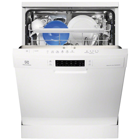 Electrolux ESF6630ROW, Freestanding Dishwasher with 6 Programmes in White