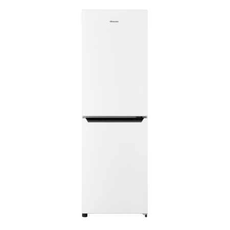 Hisense RB385N4EW1, 185.4x59.5x65.4 Frost Free Fridge Freezer White
