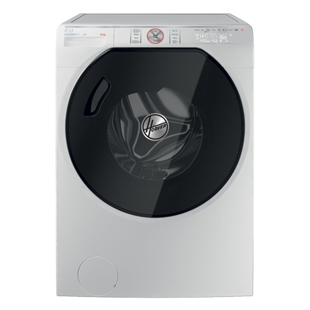 Hoover AWMPD69LH7, 9kg 1600rpm Washing Machine, Freestanding, AXI range, Energy Rating A+++, White, with WiFi + Bluetooth