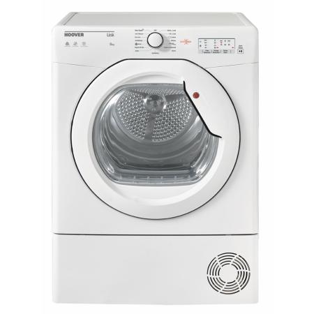 Hoover BHLC8LG, 85x59.5x61 8kg Condenser Dryer White with Sensor
