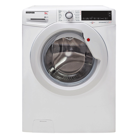 Hoover DXA69AW3, 1600 Spin 9kg Washing Machine, A+++ Rated