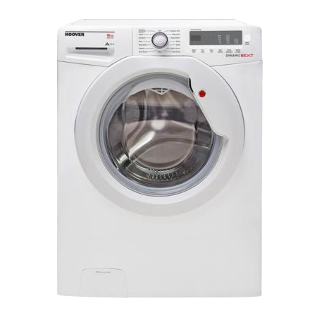 Hoover DXC59W3, 9kg load, 1500 spin Washing Machine with  A+++ Energy Rating, digital display - White