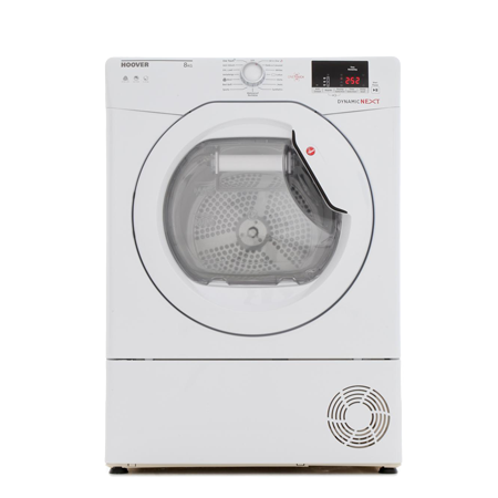 Hoover DXC8DE, 8kg Condenser Tumble Dryer with B Energy Rating in White