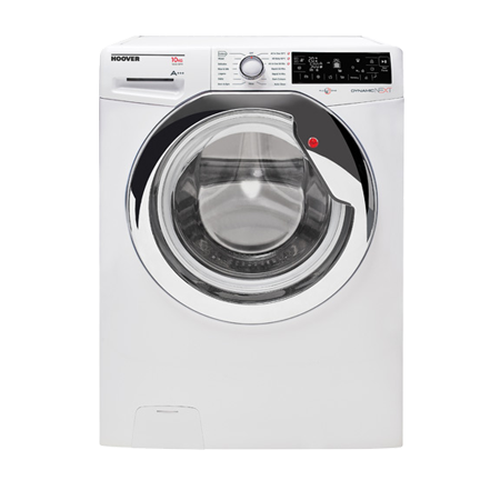Hoover DXP610AIW3, Freestanding 10kg 1600rpm Washing Machine WhiteChrome