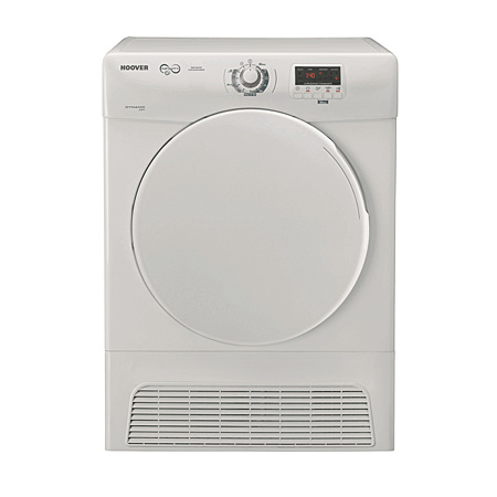 Hoover DYC890NB, 9kg Condenser Tumble Dryer in White - B Energy Rating